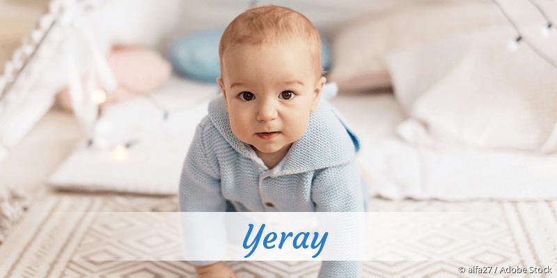 Name Yeray als Bild