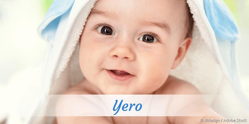 Name Yero als Bild
