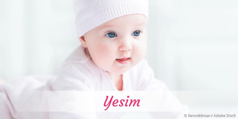 Name Yesim als Bild