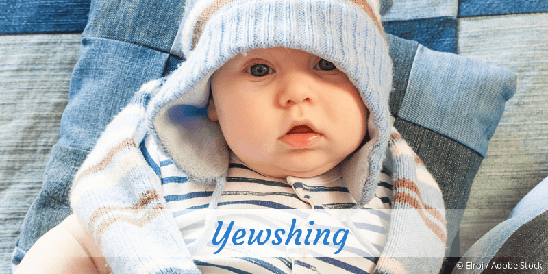 Name Yewshing als Bild