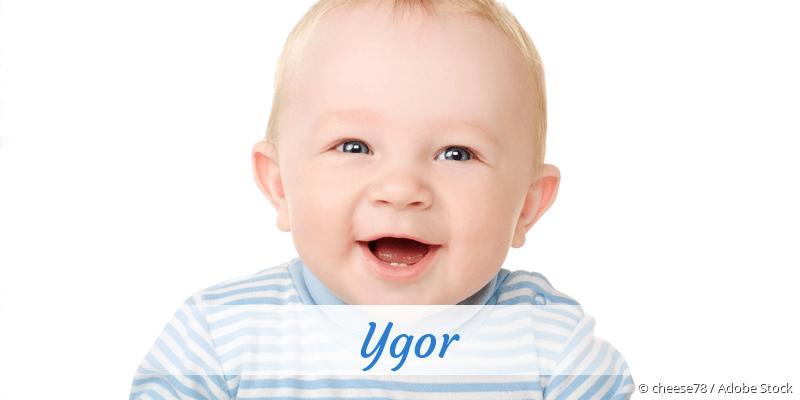 Name Ygor als Bild