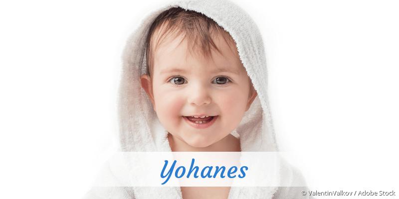 Name Yohanes als Bild