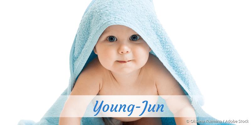 Name Young-Jun als Bild