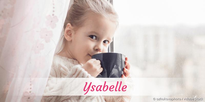 Name Ysabelle als Bild