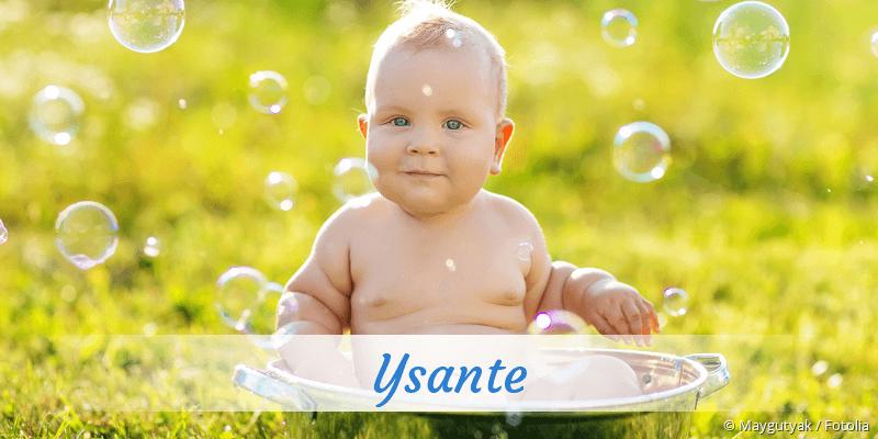 Name Ysante als Bild