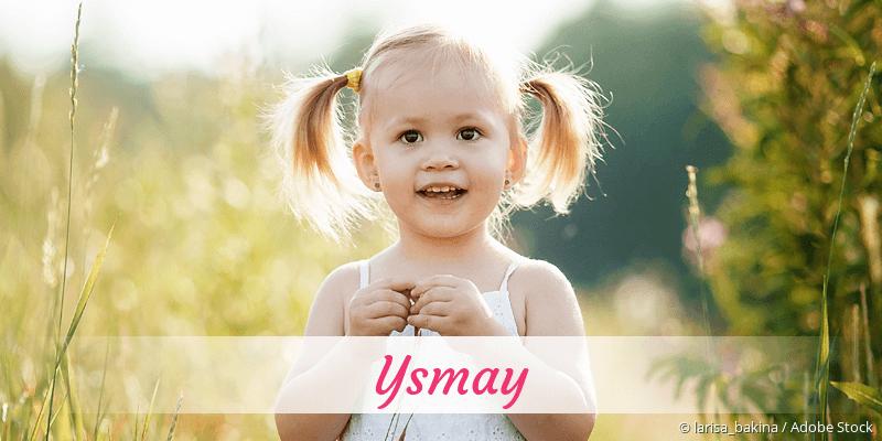 Name Ysmay als Bild