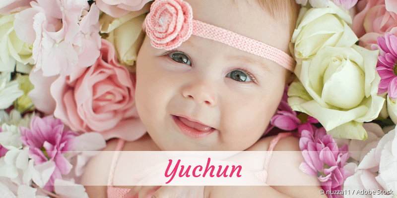 Name Yuchun als Bild