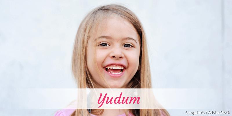 Name Yudum als Bild