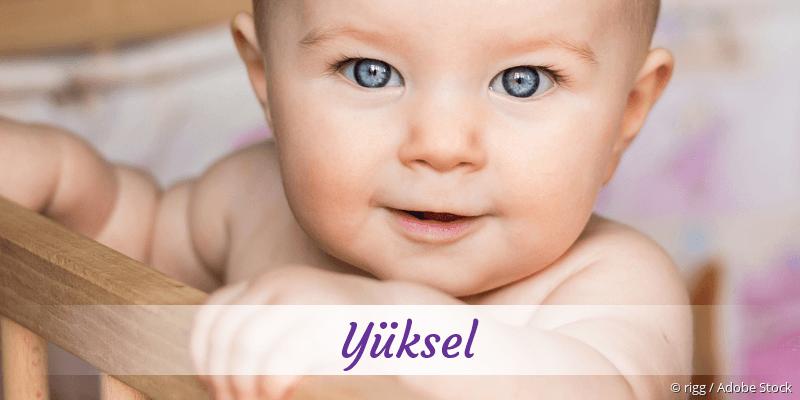 Name Yüksel als Bild
