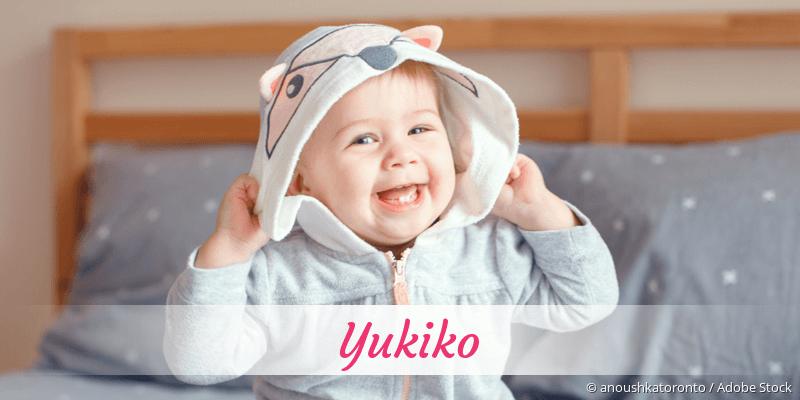 Name Yukiko als Bild