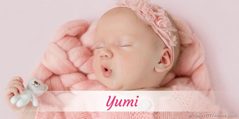 Name Yumi als Bild
