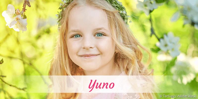 Name Yuno als Bild