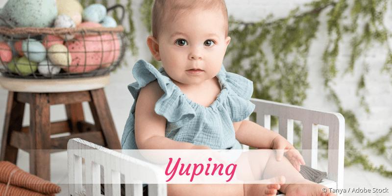 Name Yuping als Bild