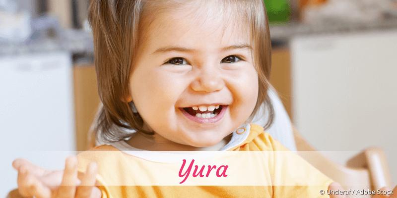 Name Yura als Bild