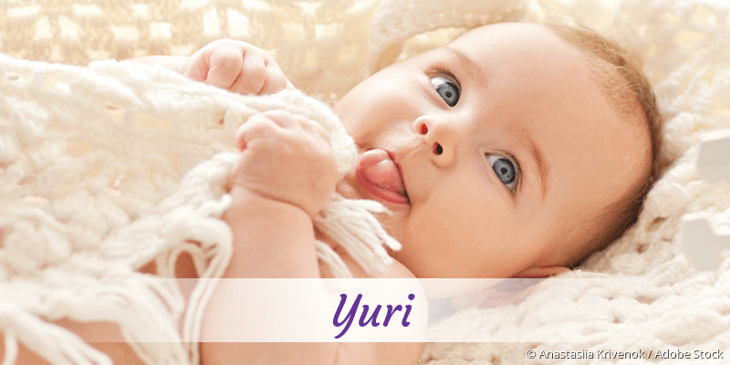 Name Yuri als Bild