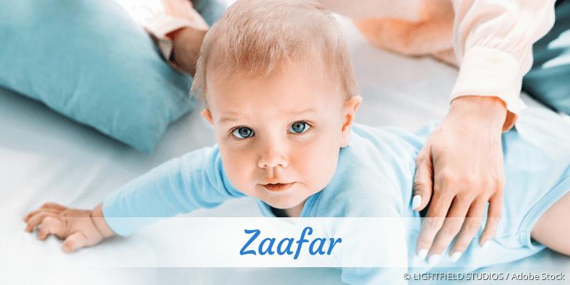 Name Zaafar als Bild
