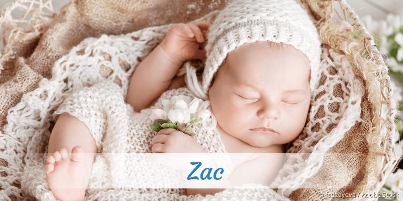 Name Zac als Bild