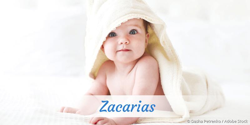 Name Zacarias als Bild