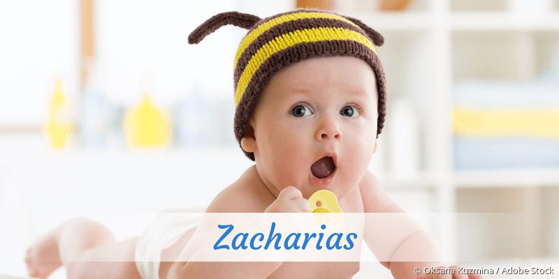 Name Zacharias als Bild