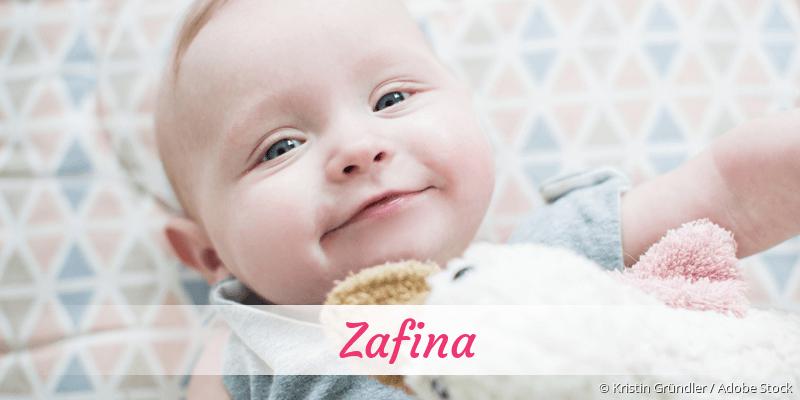 Name Zafina als Bild