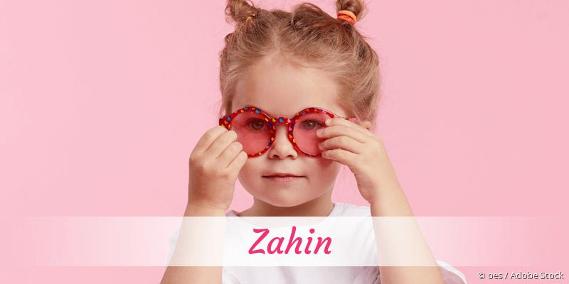 Name Zahin als Bild