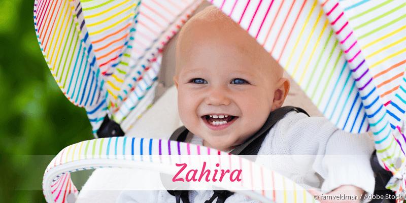 Name Zahira als Bild