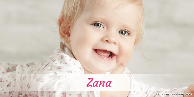 Name Zana als Bild