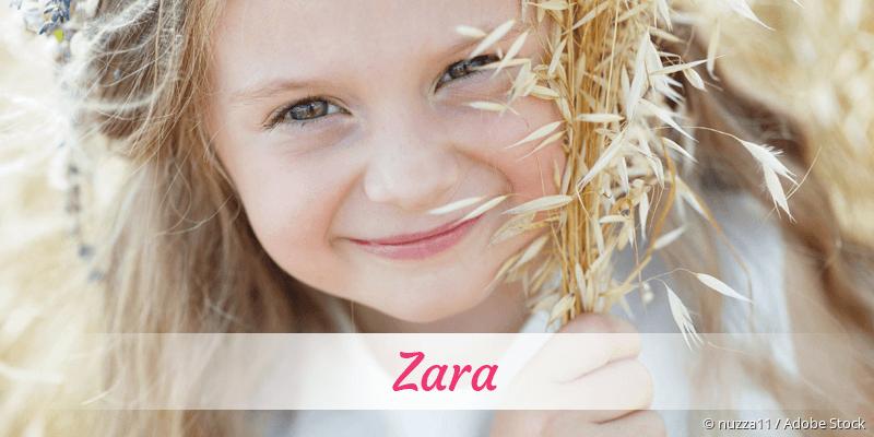 Name Zara als Bild