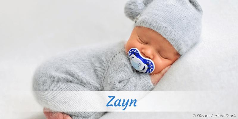 Name Zayn als Bild