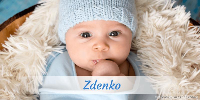 Name Zdenko als Bild