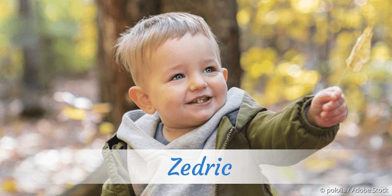 Name Zedric als Bild