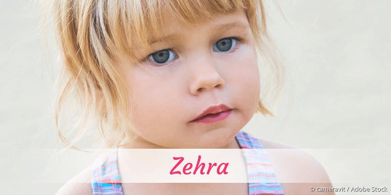 Name Zehra als Bild