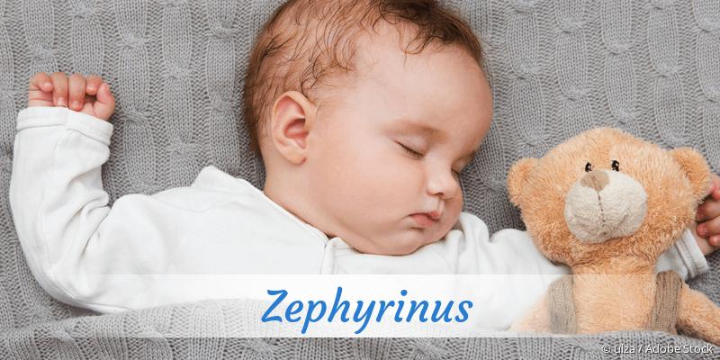 Name Zephyrinus als Bild