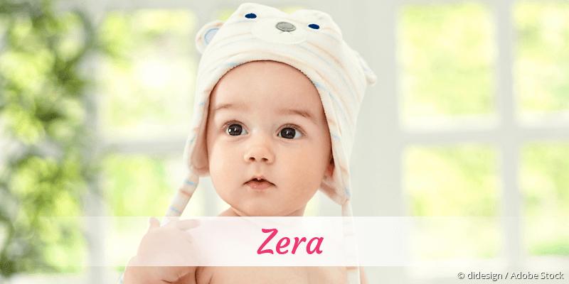 Name Zera als Bild
