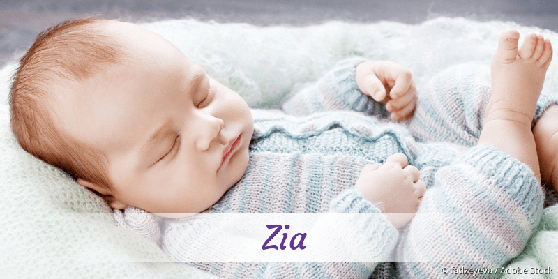 Name Zia als Bild
