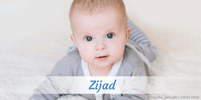 Name Zijad als Bild
