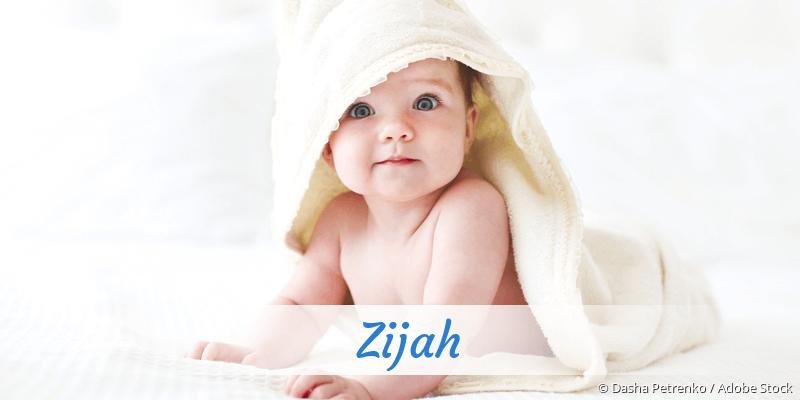 Name Zijah als Bild