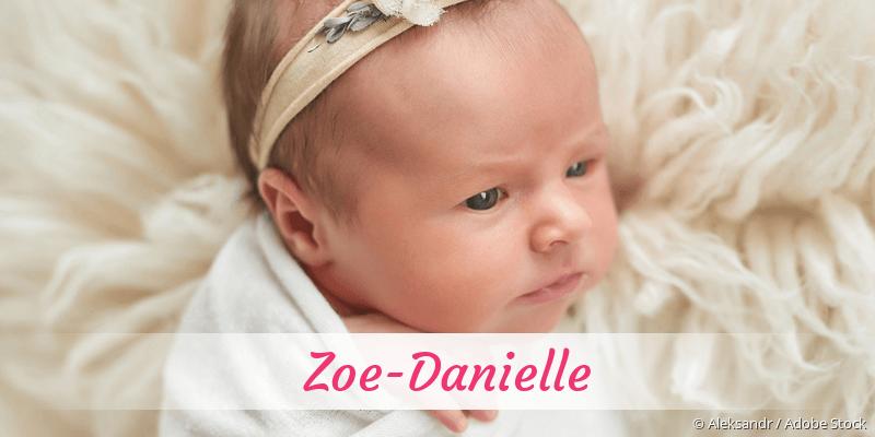 Name Zoe-Danielle als Bild
