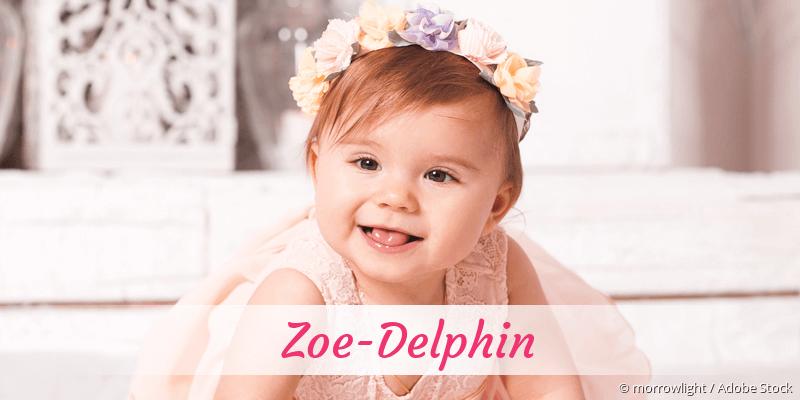 Name Zoe-Delphin als Bild