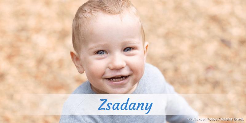 Name Zsadany als Bild