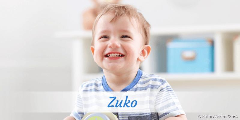 Name Zuko als Bild