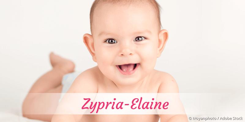 Name Zypria-Elaine als Bild