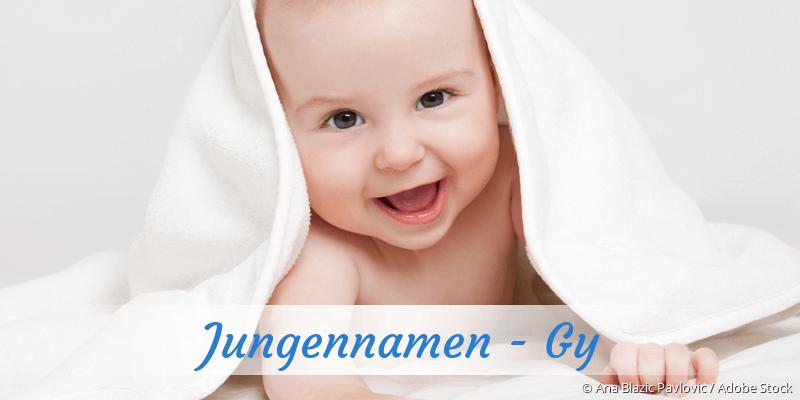 Jungennamen mit Gy
