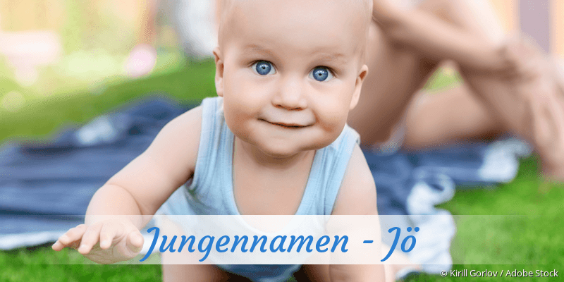 Jungennamen mit Jö