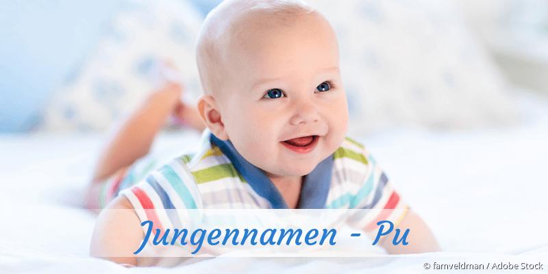 Jungennamen mit Pu