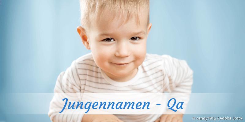 Jungennamen mit Qa