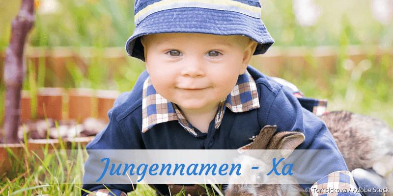 Jungennamen mit Xa