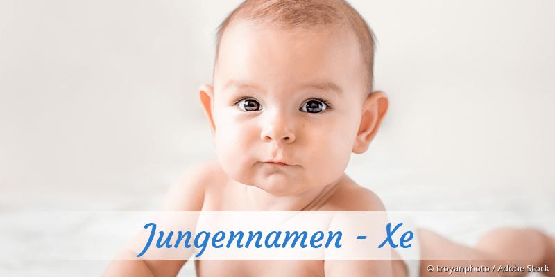 Jungennamen mit Xe