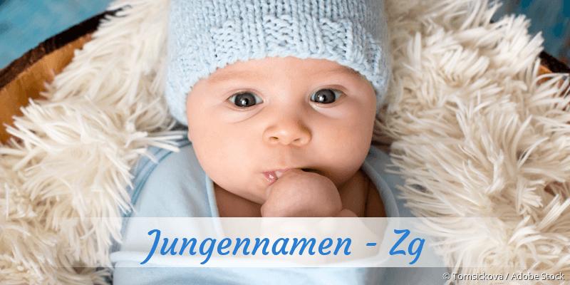 Jungennamen mit Zg