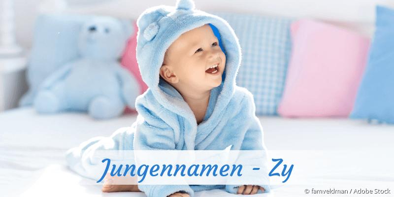 Jungennamen mit Zy